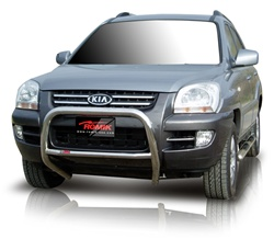 "2005-2008 Kia Sportage Bull Bar (2.5"") by Romik"