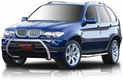 "2003-2006 BMW X5 Bull Bar (2.5"") by Romik"