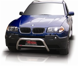 "2003-2009 BMW X3 Bull Bar (2.5"") by Romik"
