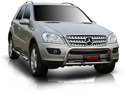 "2002-2005 Mercedes Benz ML (exc. AMG) Bull Bar (2.5"") by Romik"