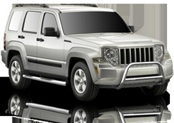 2002-2007 Jeep Liberty Max Bars Side Step Bars by Romik