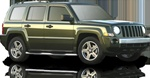 2007-2009 Jeep Patriot Max Bars Side Step Bars by Romik