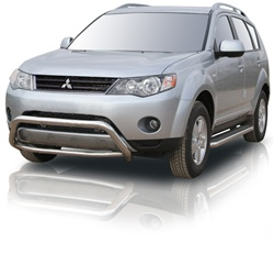 2007-2009 Mitsubishi Outlander Runningboard Side Steps by Romik