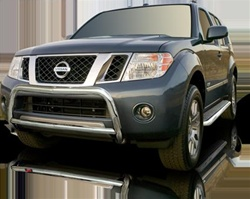"2005-2009 Nissan Pathfinder Bull Bar (2.5"") by Romik"