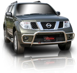 2005-2009 Nissan Pathfinder Bull Bar with Brush Guard by Romik