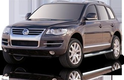 2007-2009 VW Touareg Max Bars Side Steps by Romik