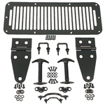 HOOD SET, 78-95 JEEP CJ & WRANGLER, BLACK