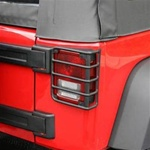 07-10 Wrangler Euro Tail Light Armor OE Style by Rugged Ridge