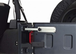 Aluminum, Tailgate, Door Stop, 87-12, Jeep, Wrangler, YJ, TJ, JK, Unlimited, accessories, 11238.11