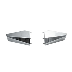 XHD Stainless Bumper Ends, Standard Length