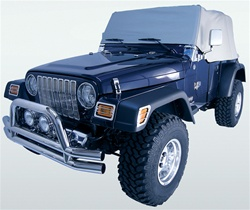 '92-'06 Wrangler Cab Cover by Rugged Ridge - Grey