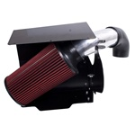 AIR INTAKE KIT, POLISHED ALUMINUM, RUGGED RIDGE, JEEP WRANGLER (YJ) 4.0L 91-95 by Rugged Ridge