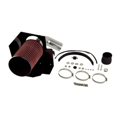 AIR INTAKE KIT, POLISHED ALUMINUM, RUGGED RIDGE, JEEP WRANGLER (YJ) 2.5L 91-95 by Rugged Ridge