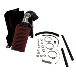 AIR INTAKE KIT, POLISHED ALUMINUM, RUGGED RIDGE, JEEP CHEROKEE (XJ) 4.0L 91-01 by Rugged Ridge