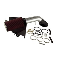 AIR INTAKE KIT, POLISHED ALUMINUM, GRAND CHEROKEE (ZJ) 5.2L, 5.9L 93-98 by Rugged Ridge