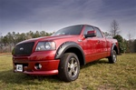 Ford F150 2004-2008 4pc. All Terrain Fender Flares 4 pc. Kit by Rugged Ridge