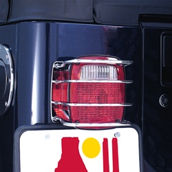 Wrangler Euro Tail Light Armor by Rugged Ridge