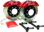 Hummer H2 SUV & SUT Brembo 6 Piston Gran Turismo - Front Brake Kit - Fits 2008 & Up H2's By Brembo