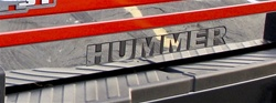 Hummer H3T Rear Bumper Letter Surround by Real Wheels
