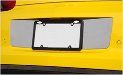 2010 camaro Stainless Steel  License Plate Panel by Real wheels