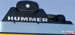 HUMMER H2/SUT Crossbar Letter Inserts by RealWheels