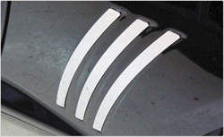 2010 Camaro Stainless Steel Rear Side Vents by Realwheels