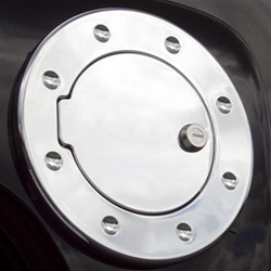 H3T Smooth Billet Aluminum Fuel Door by Real Wheels