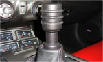 2010 Camaro Black Billet Aluminum Black Manual Gear Shift Knob by Realwheels