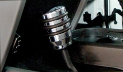 Jeep Wrangler JK Billet Aluminum 4wd Gear Shift Knob by RealWheels