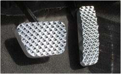 2010 Camaro Billet Aluminum Pedal Set (Automatic Transmission) by Realwheels