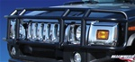 H2 Wrap Around Double Tier Black Brush Guard By Realwheels