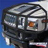 H2 Over-The-Hood Wrap Around Black Brush Guard By Realwheels