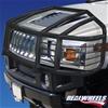 H2 Over-The-Hood Wrap Around Black Brush Guard With Inserts By Realwheels
