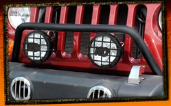Jeep Wrangler JK Black Prerunner Bar by RealWheels