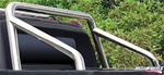 HUMMER SUT Slant Back Roll Bar - No Inserts