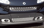 Stainless Steel Front Grille and Fog Lights Overlay Kit 2 by Real Wheals