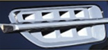 2007 Escalade Stainless Steel Side Vents (4-pieces) by RealWheels