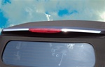 Stainless Steel CABRIOLET Rear Upper Brake Light Trim by Real Wheals
