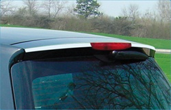 Stainless Steel COUPE Rear Upper Brake Light Trim by Real Wheals