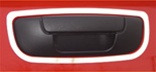 07-08 Ram Stainless Steel Tailgate Door Handle Surround by RealWheels
