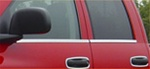 07-08 Ram Stainless Steel Window Accent Trim by RealWheels