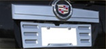 2007 Escalade Billet Aluminum License Plate Panel by RealWheels