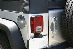 07-08 Jeep Wrangler Stainless Steel Door Handle By Rampage