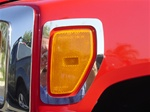 Hummer H3 Stainless Steel Marker Light Surrounds by Steelcraft