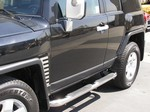 FJ Cruiser Side Bar Steps by Steelcraft