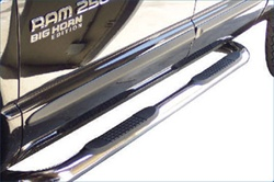 Ram 1500/2500/3500 Oval Step Bars By Steelcraft