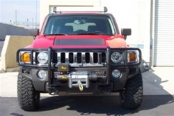 Hummer H3 Winch Brushguard by Steelcraft