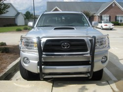 Toyota Tacoma Grill Guard by Steelcraft