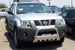 "04-08 Nissan Titan Stainless Steel 3"" Bull Bar by Steelcraft"