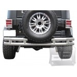 Stainless Steel Double Tubular Rear Bumper 2/4dr.  TEAKA-10100